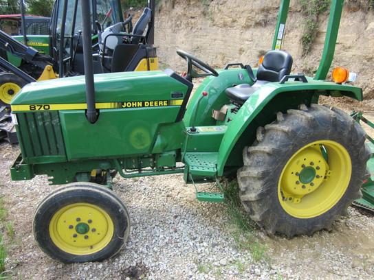John Deere 870 Tractors - Compact (1-40hp.) - John Deere ...