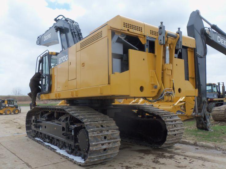 John Deere 870G LC excavator | JD construction equipment ...