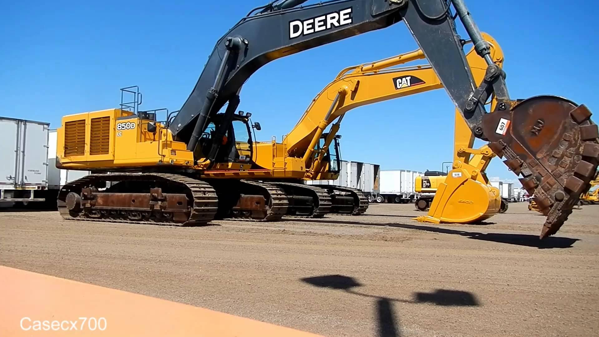 Testing Deere 850D Excavator - YouTube