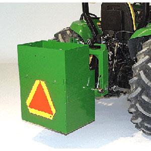 John Deere 9-inch Ballast Box Extension - BW15074