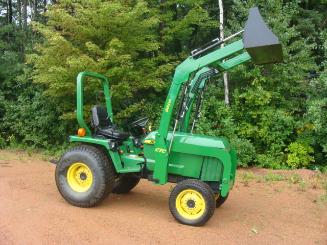 CTC 9050 Front End Loader For, John Deere 955