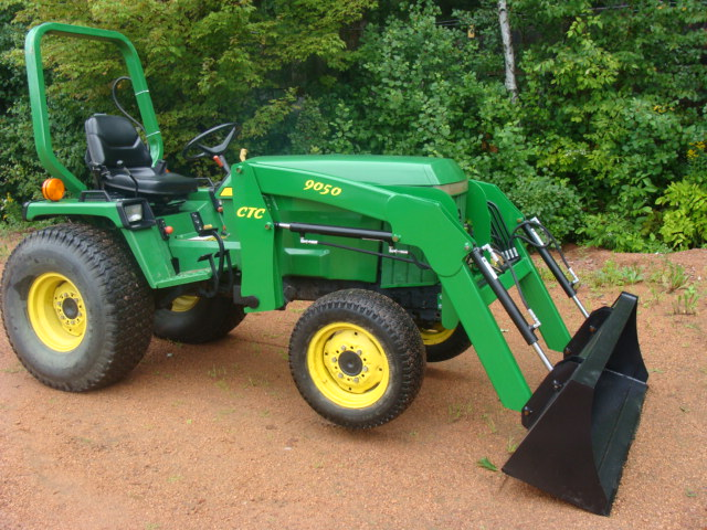 JOHN DEERE 855 955 front end loader