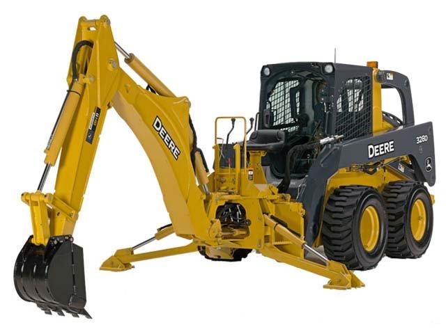 John Deere Construction BH11 Backhoe Attachments ...
