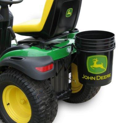 John Deere Single Bucket Holder with Bucket | WeGotGreen.com
