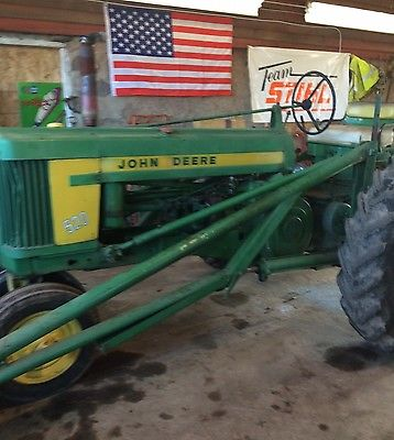 1958 John Deere 520 Narrow Front Gas Tractor With Loader ...