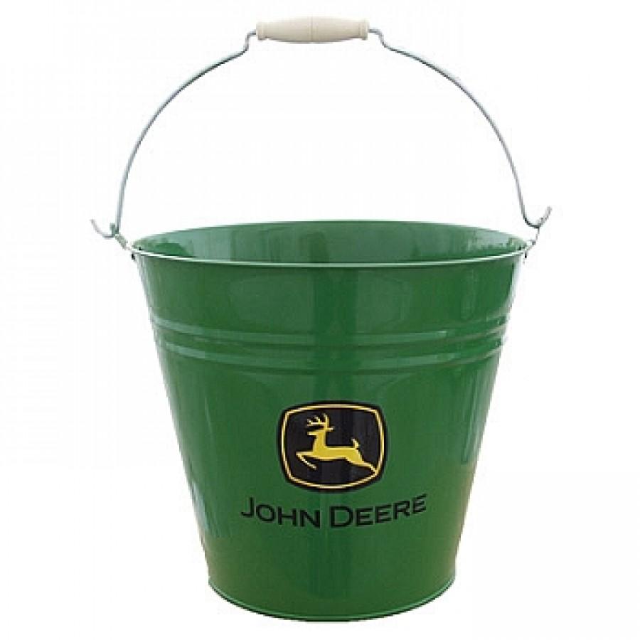 John Deere 11 Green Metal Bucket | RunGreen.com