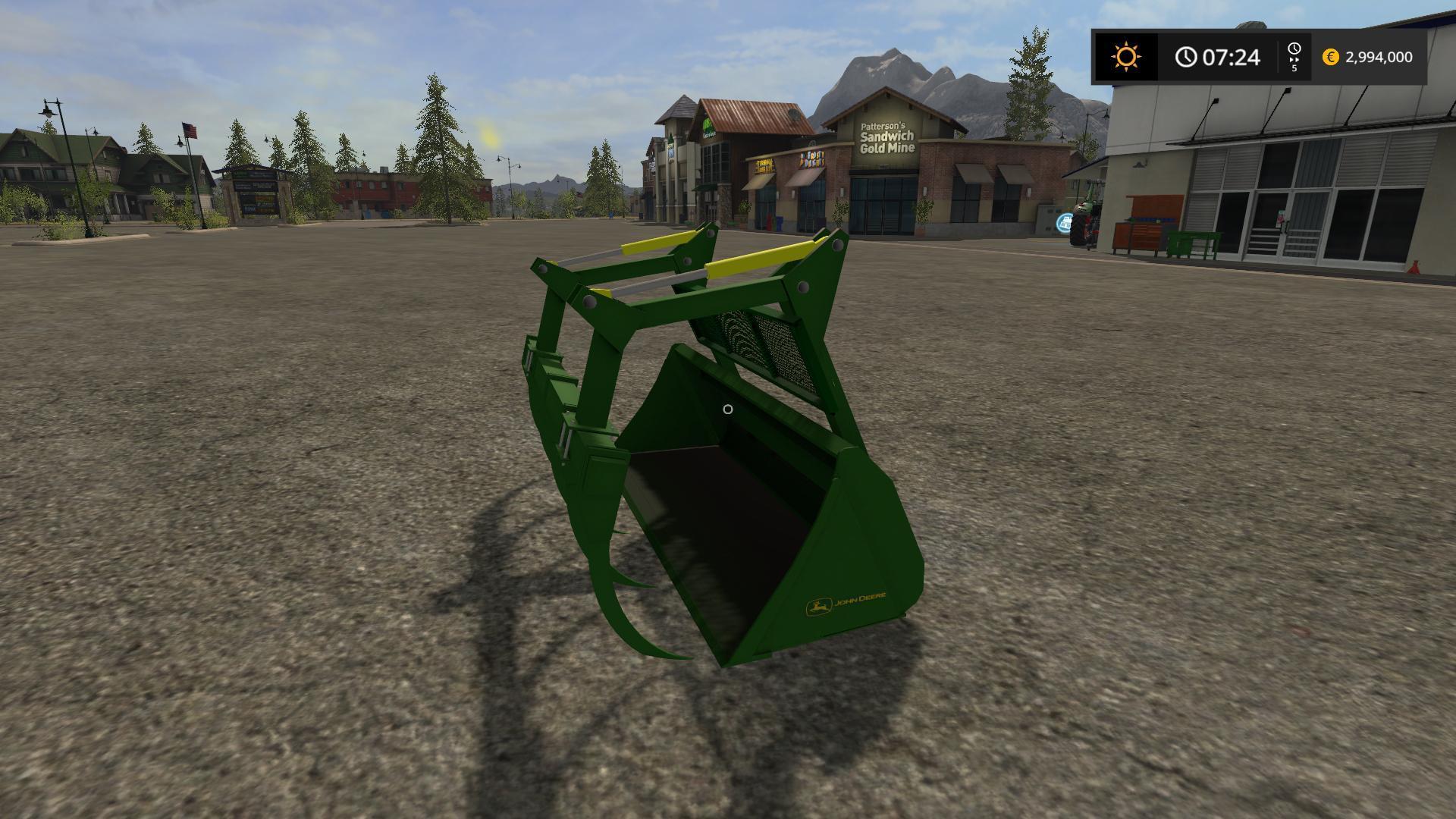 FS17 JOHN DEERE GRAPLE BUCKET V1.0 - Farming Simulator 17 ...
