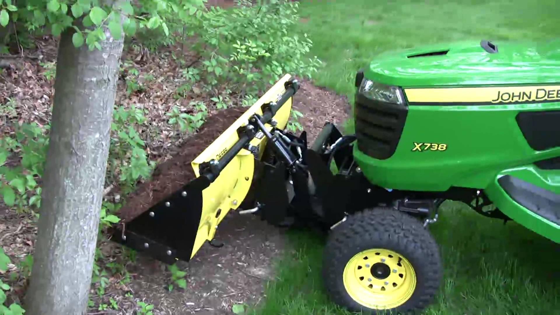 John Deere X729 45 Loader Demonstration Youtube | 2017 ...