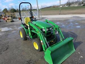 2012 JOHN DEERE 2320 Tractor With OEM Loader, ONLY 26 Hrs ...
