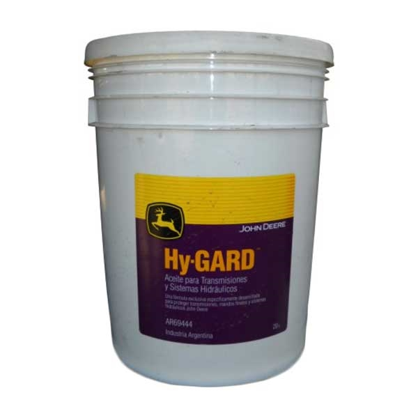John Deere Hy-Gard Oil 5 Gallon Bucket AR69444