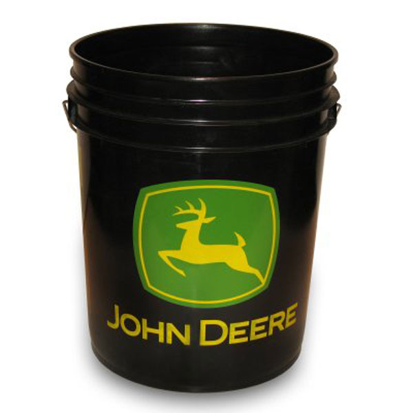 John Deere Logo 5 Gallon Bucket- LPJD400