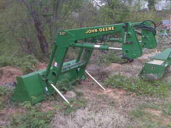 Used Farm Tractors for Sale: John Deere 521 Loader (2010 ...