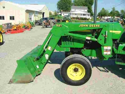 $4,500 2000 John Deere 521 for sale in Dundee, Ohio ...