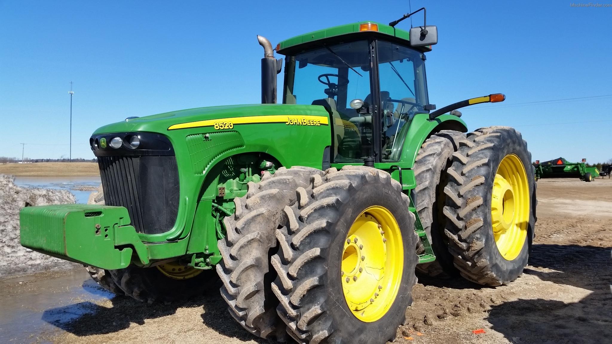 2005 John Deere 8520 Tractors - Row Crop (+100hp) - John ...