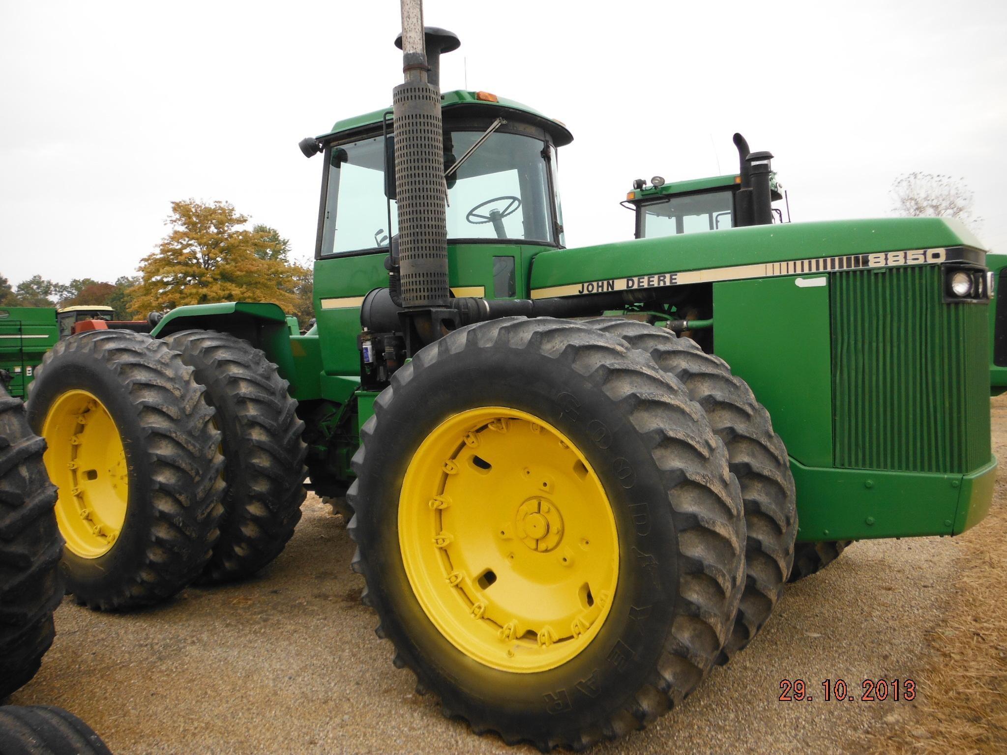 Wisconsin Ag Connection - JOHN DEERE 8850 Tractors for sale
