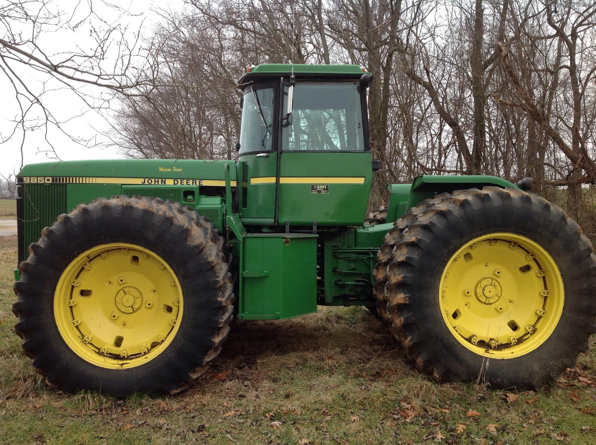 1982 John Deere 8850 Tractors - Articulated 4WD - John ...