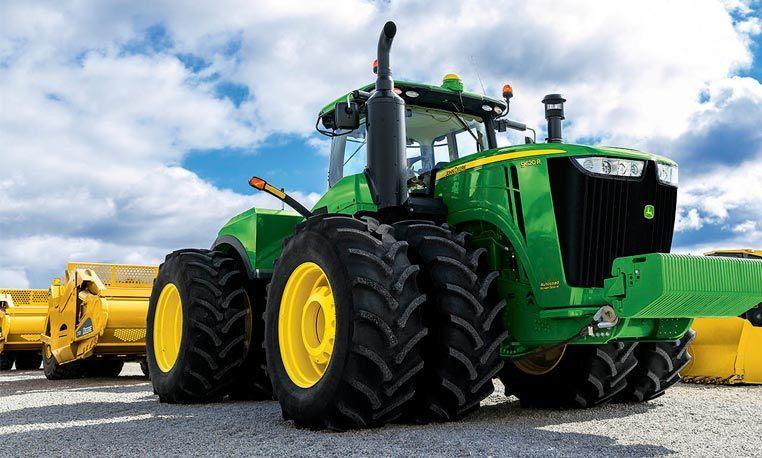 Four-Wheel-Drive Tractors   9R/9RT Scraper-Special ...