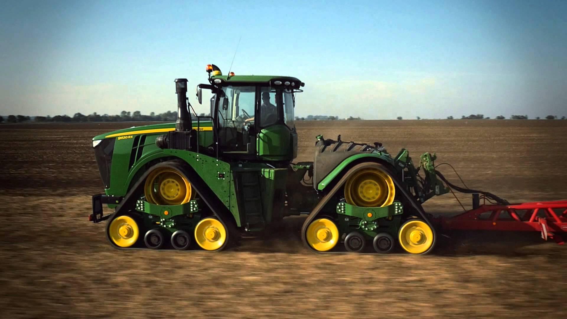 The New John Deere 9RX Series Tractors - YouTube