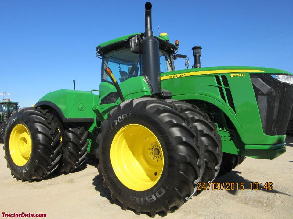 TractorData.com John Deere 9570R tractor photos information