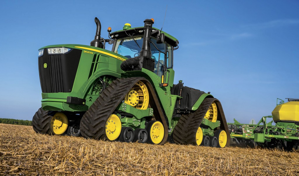 Revealing the 2016 John Deere 9RX Series Tractors