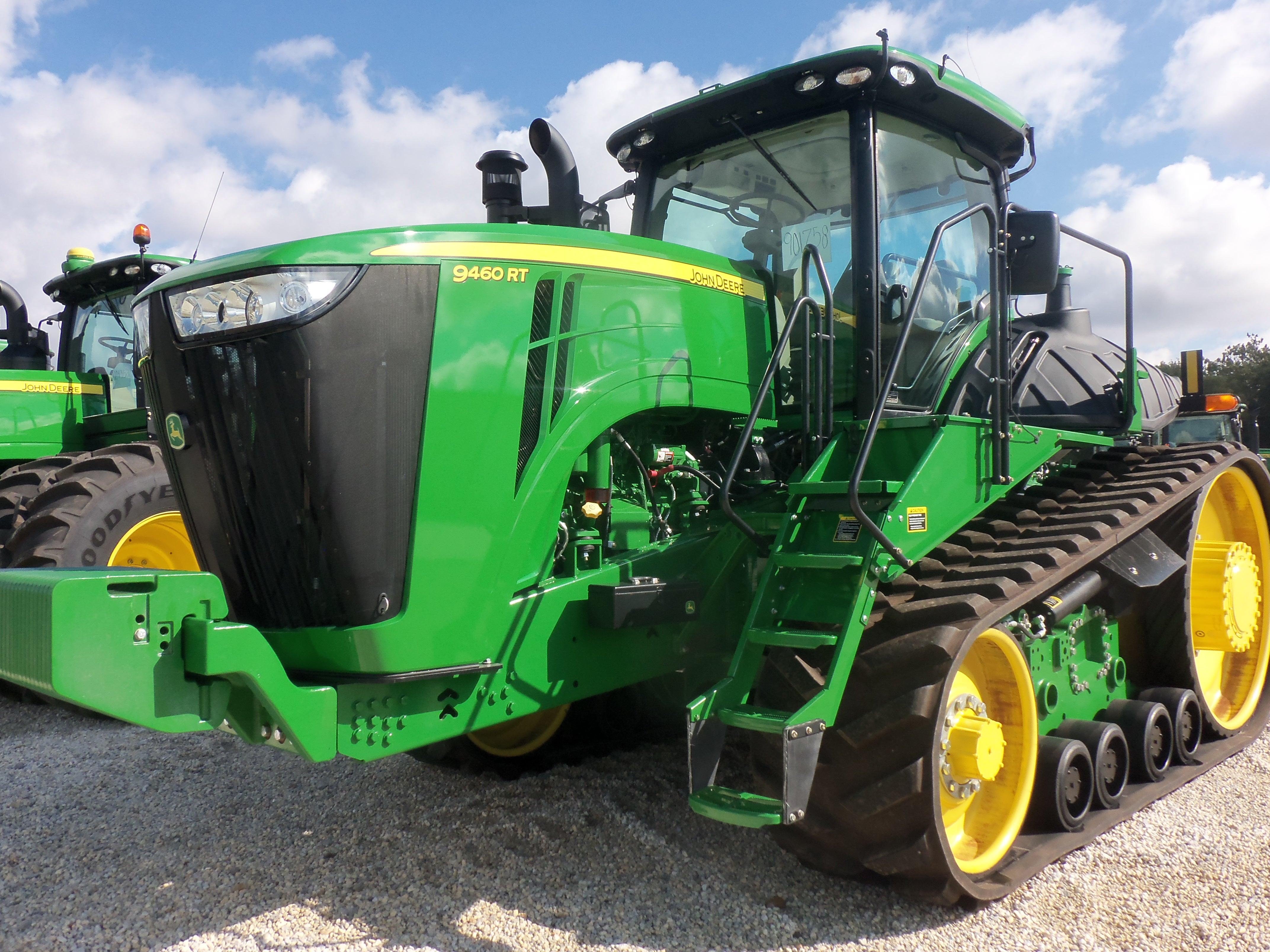 John Deere 9460RT | John Deere equipment | Pinterest