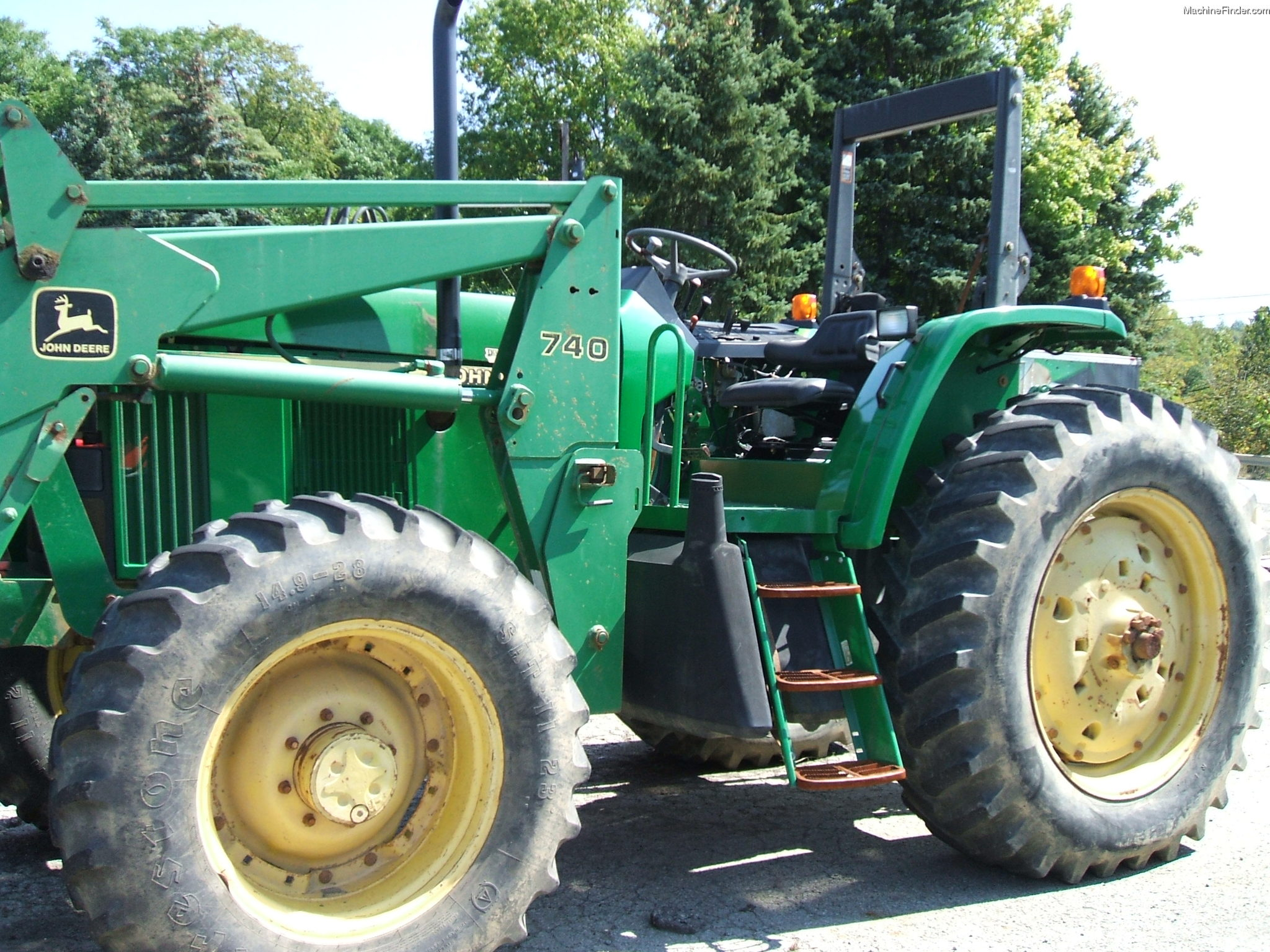 2000 John Deere 7405 Tractors - Utility (40-100hp) - John ...