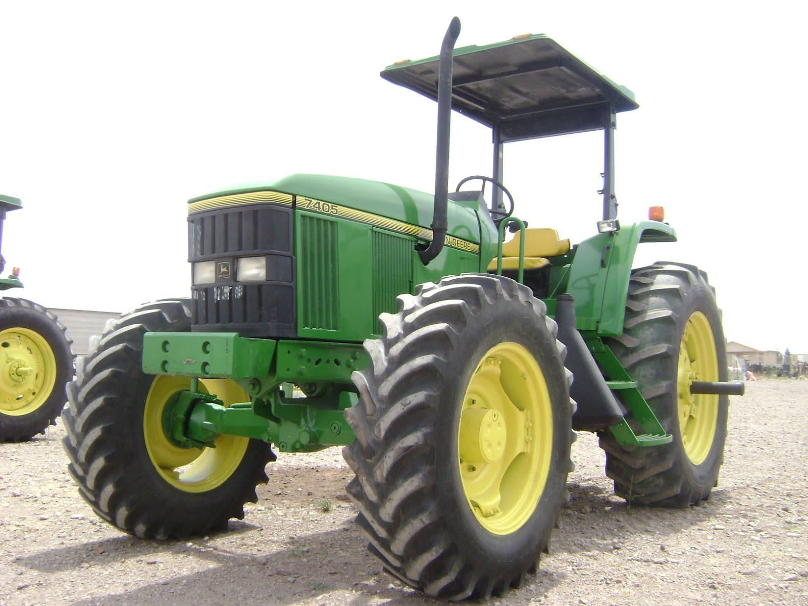 MAQUINARIA AGRICOLA INDUSTRIAL: Tractor John Deere 7405 ...