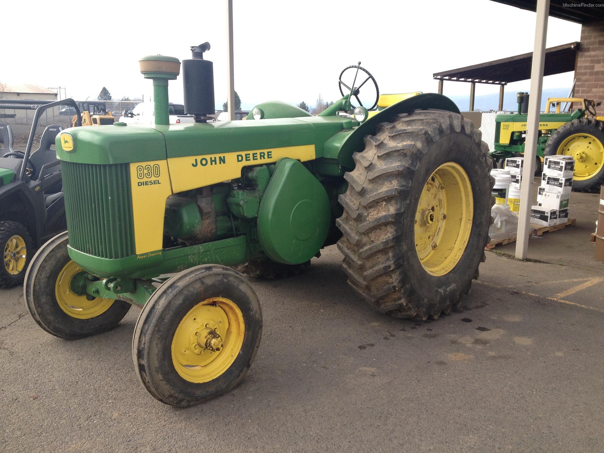 John Deere John Deere 830 Tractors - Utility (40-100hp ...