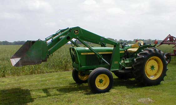 John Deere 1530 diesel Tractor with loader for sale