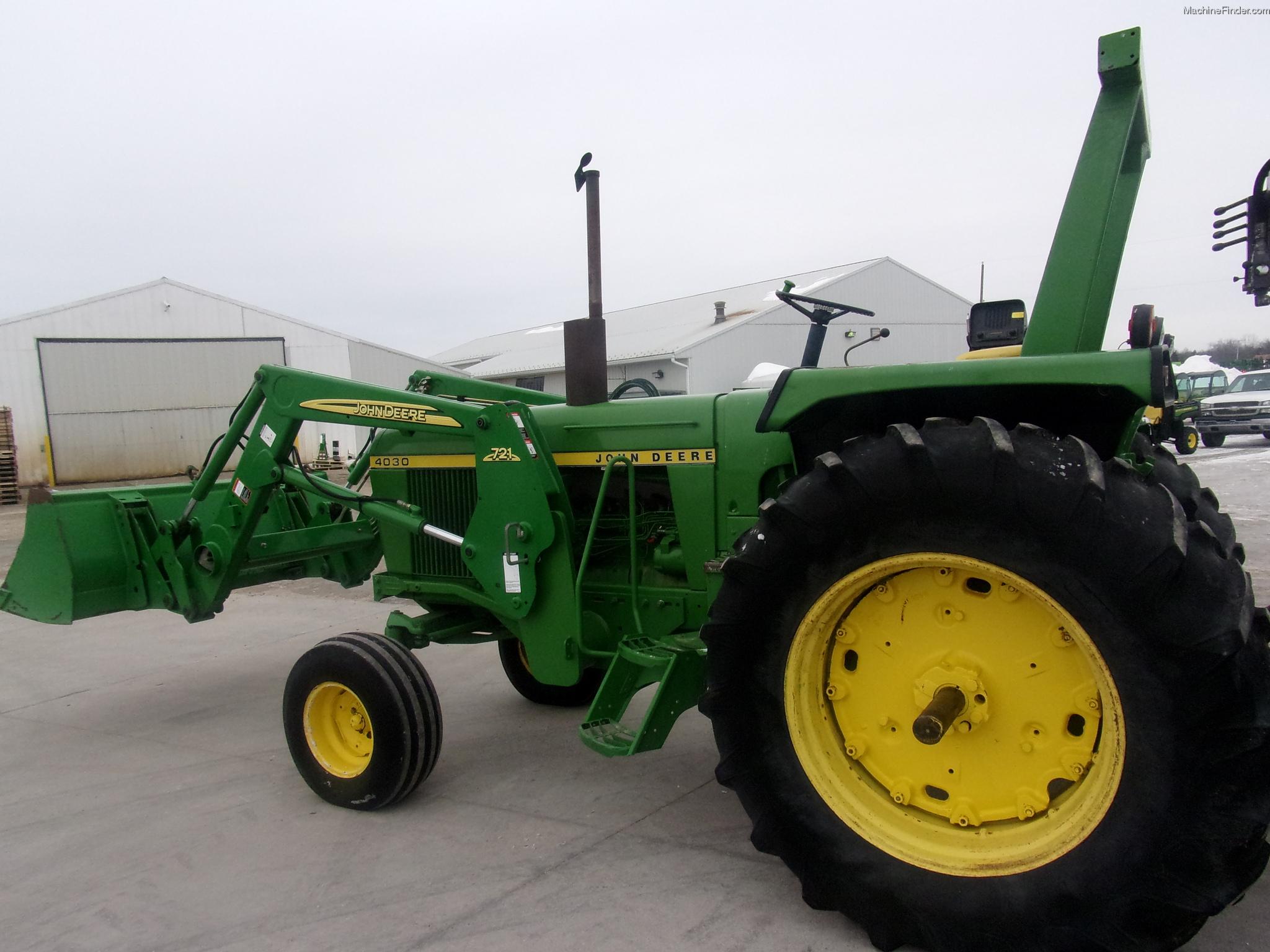 1973 John Deere 4030 Tractors - Row Crop (+100hp) - John ...