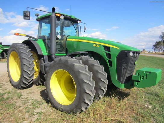 2008 John Deere 8430 Tractors - Row Crop (+100hp) - John ...