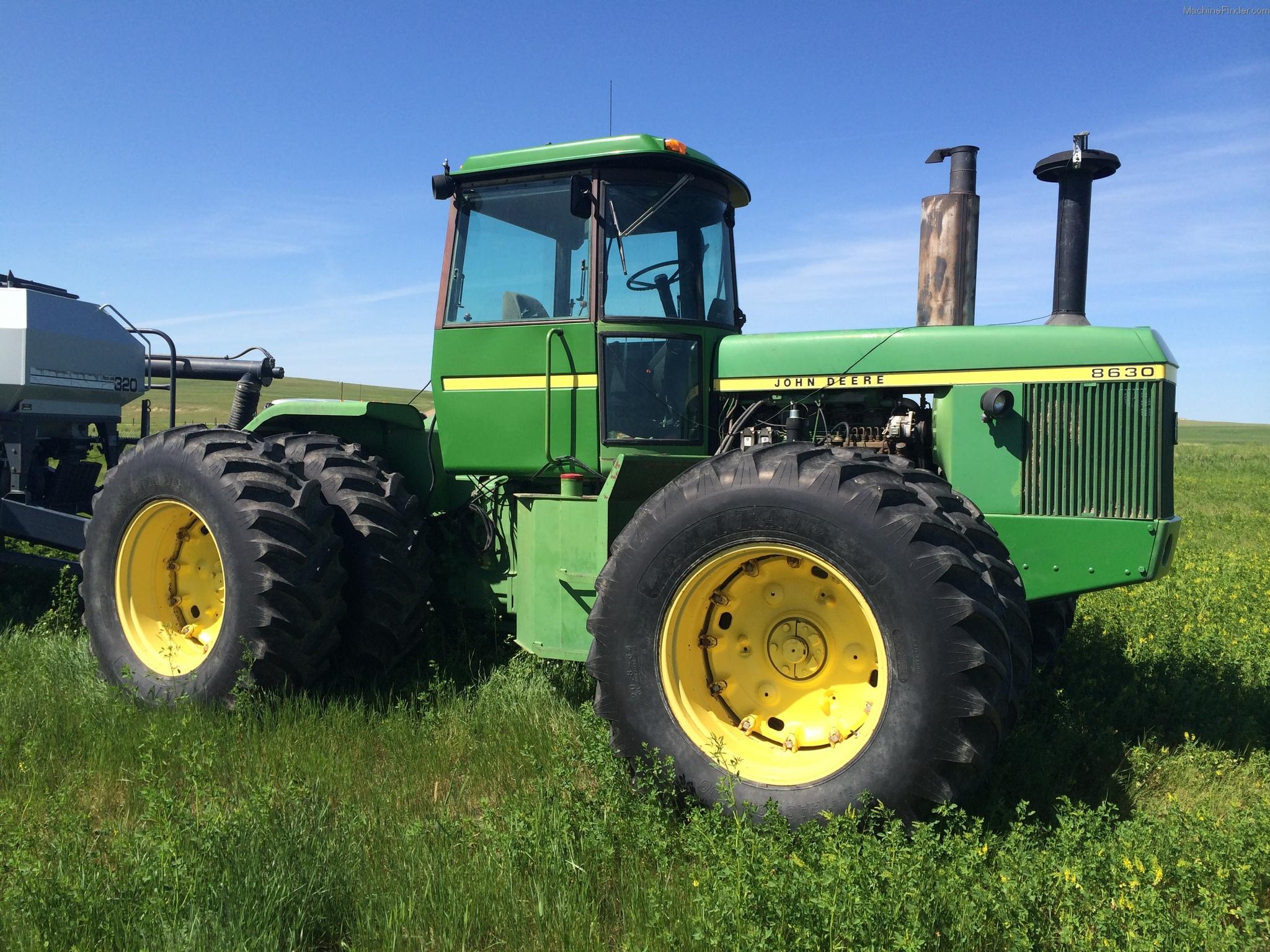 John Deere 8630 Tractors - Articulated 4WD - John Deere ...