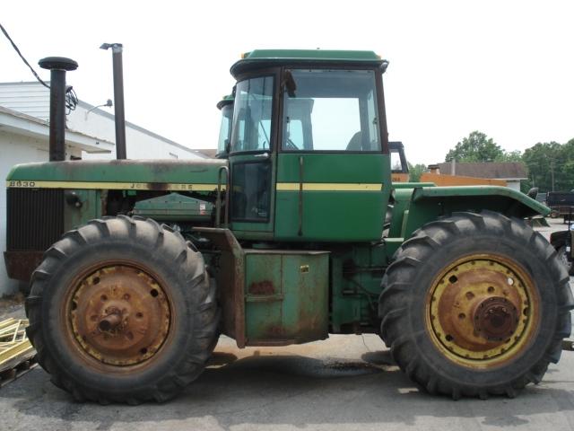 John Deere 8630 salvage tractor at Bootheel Tractor Parts
