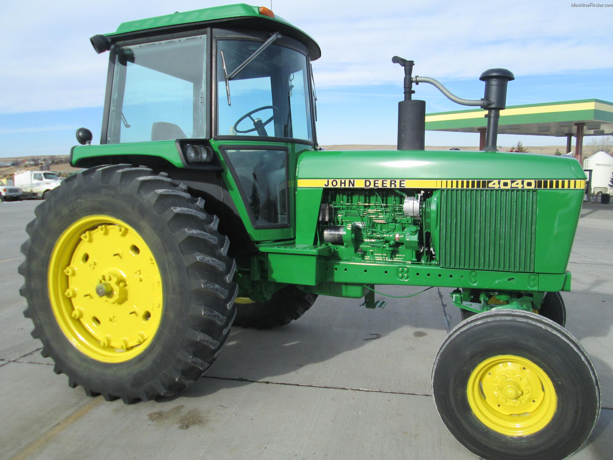 1980 John Deere 4040 Tractors - Row Crop (+100hp) - John ...