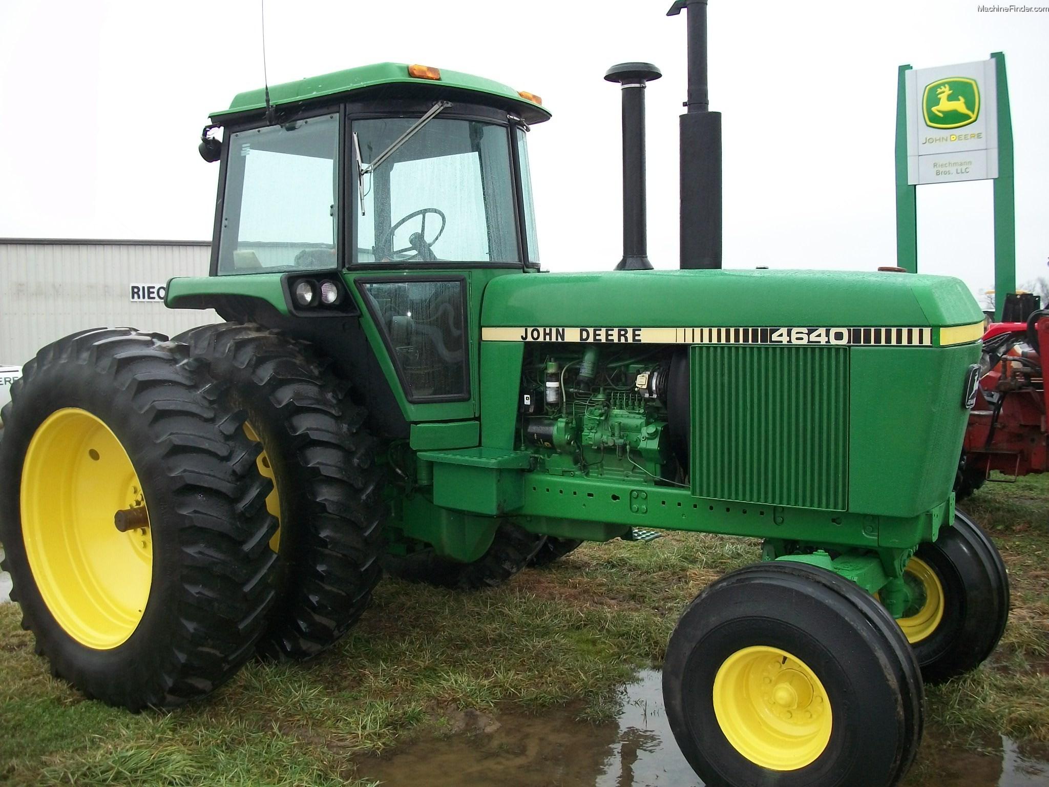1981 John Deere 4640 Tractors - Row Crop (+100hp) - John ...