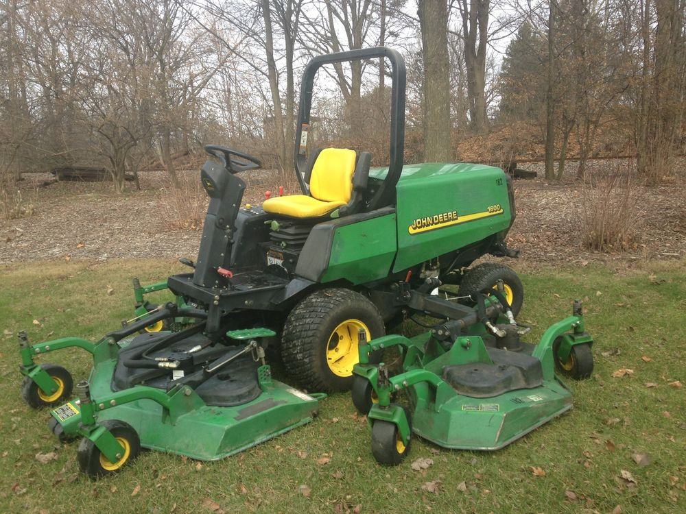 John Deere 1600 Wide Area Mower | eBay