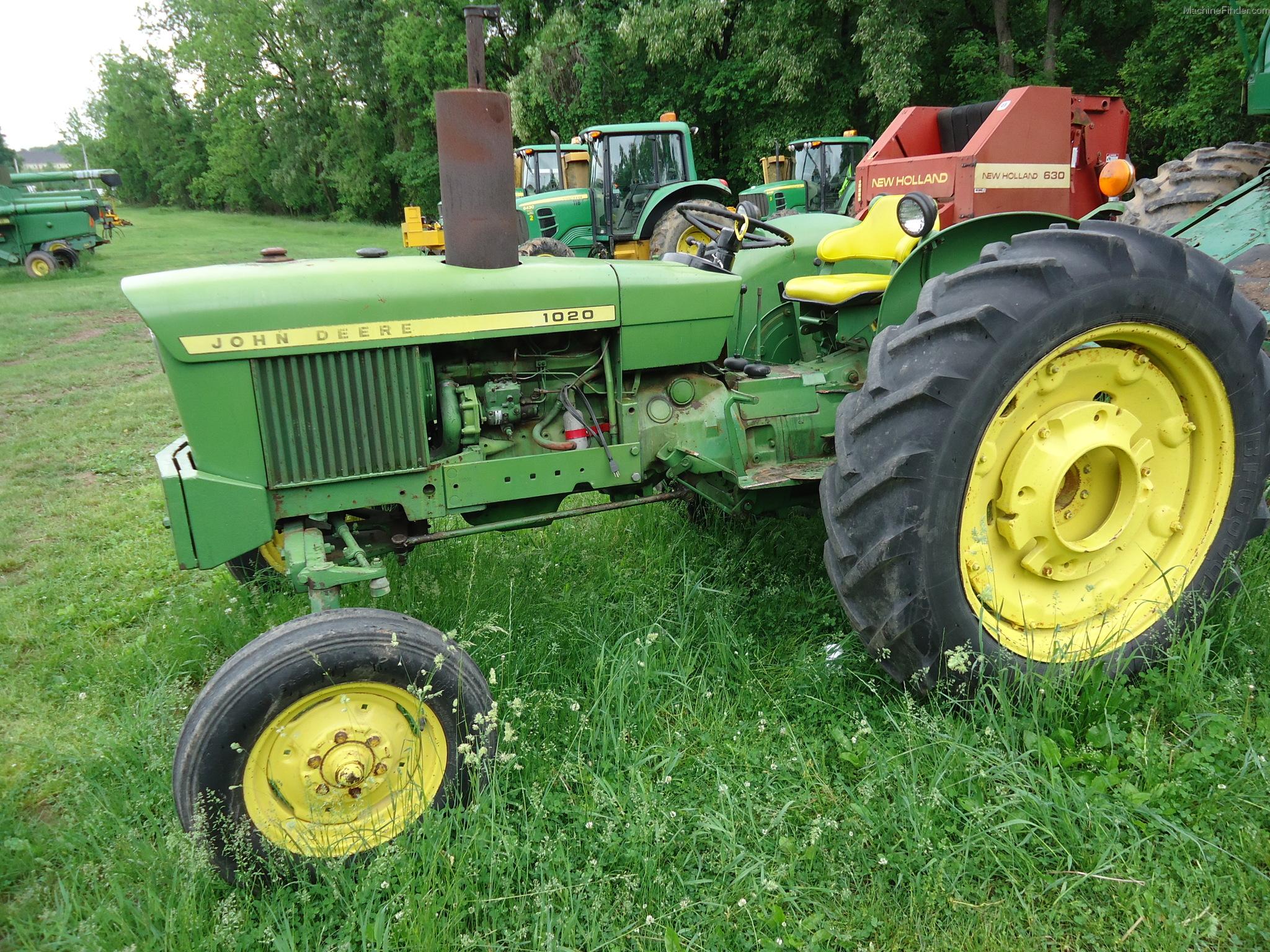 1967 John Deere 1020 Tractors - Utility (40-100hp) - John ...