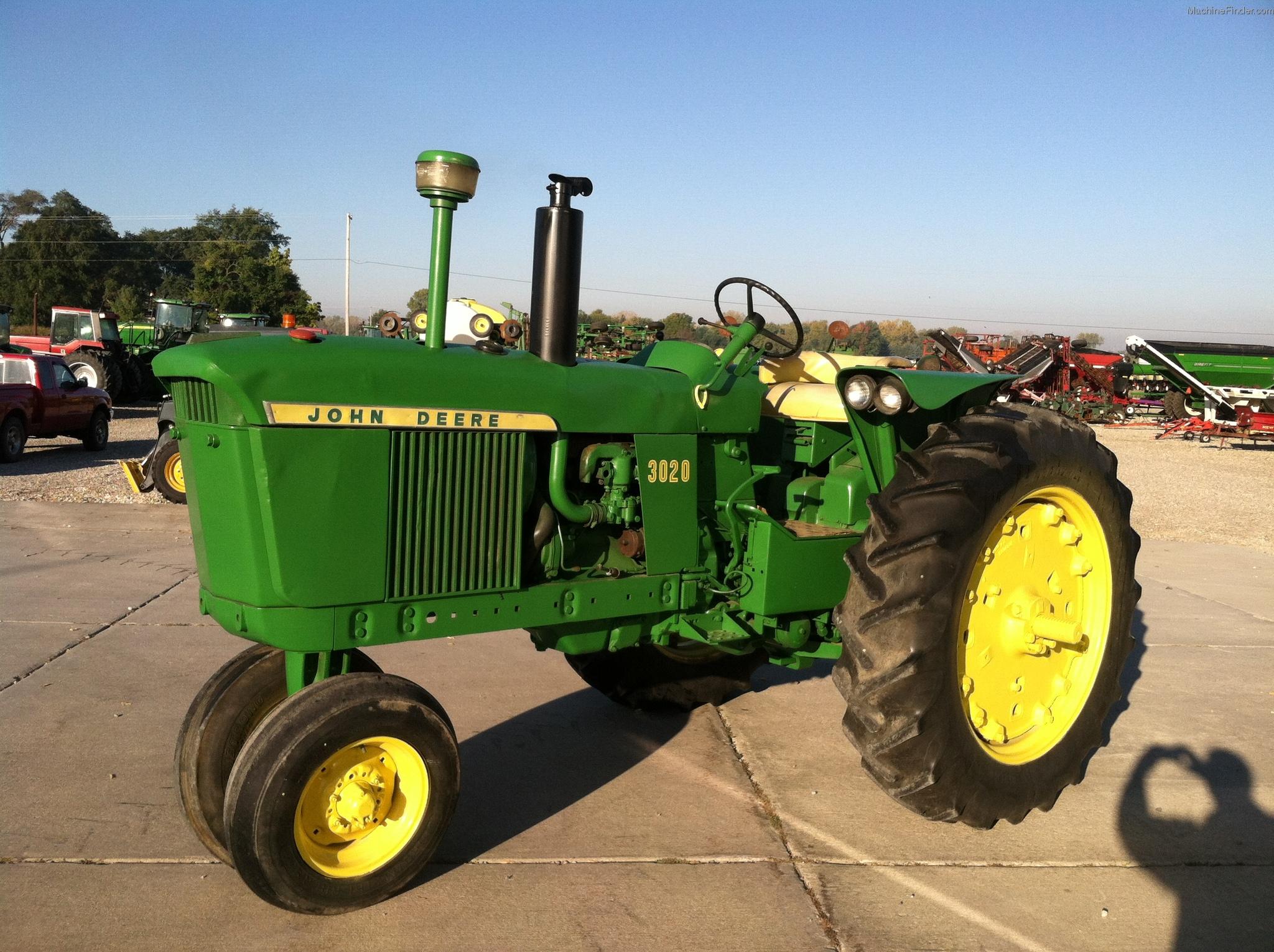 1964 John Deere 3020 Tractors - Row Crop (+100hp) - John ...