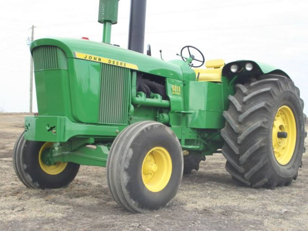 Second Highest Auction Price Ever on John Deere 5010 Tractor