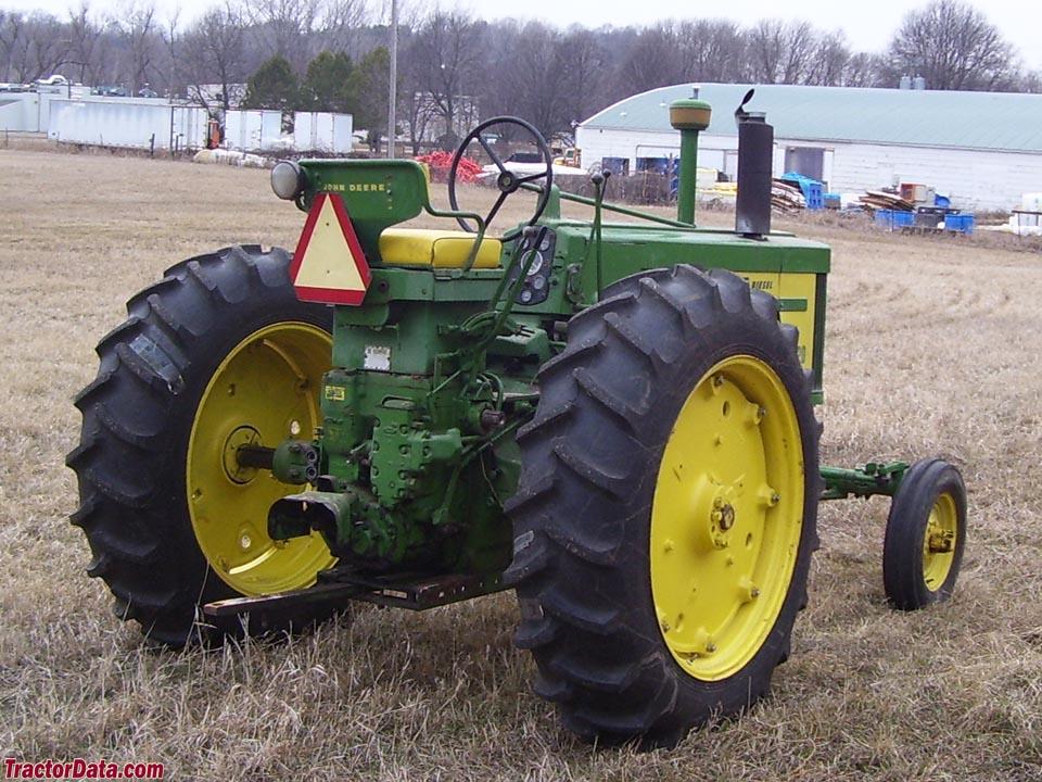 TractorData.com John Deere 720 tractor photos information