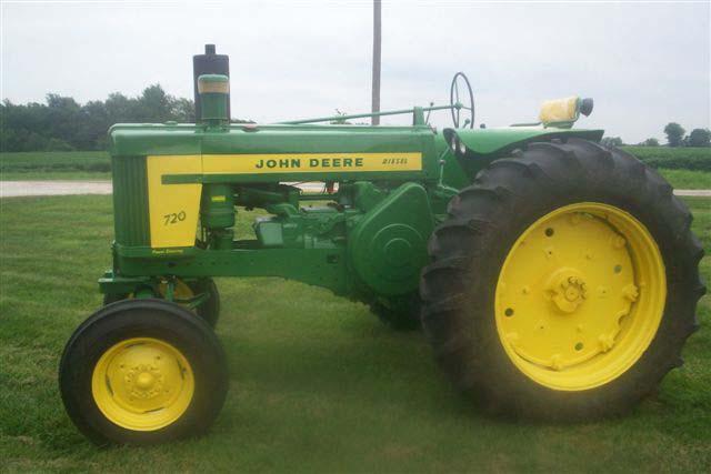 John Deere 720 Diesel tractor for sale