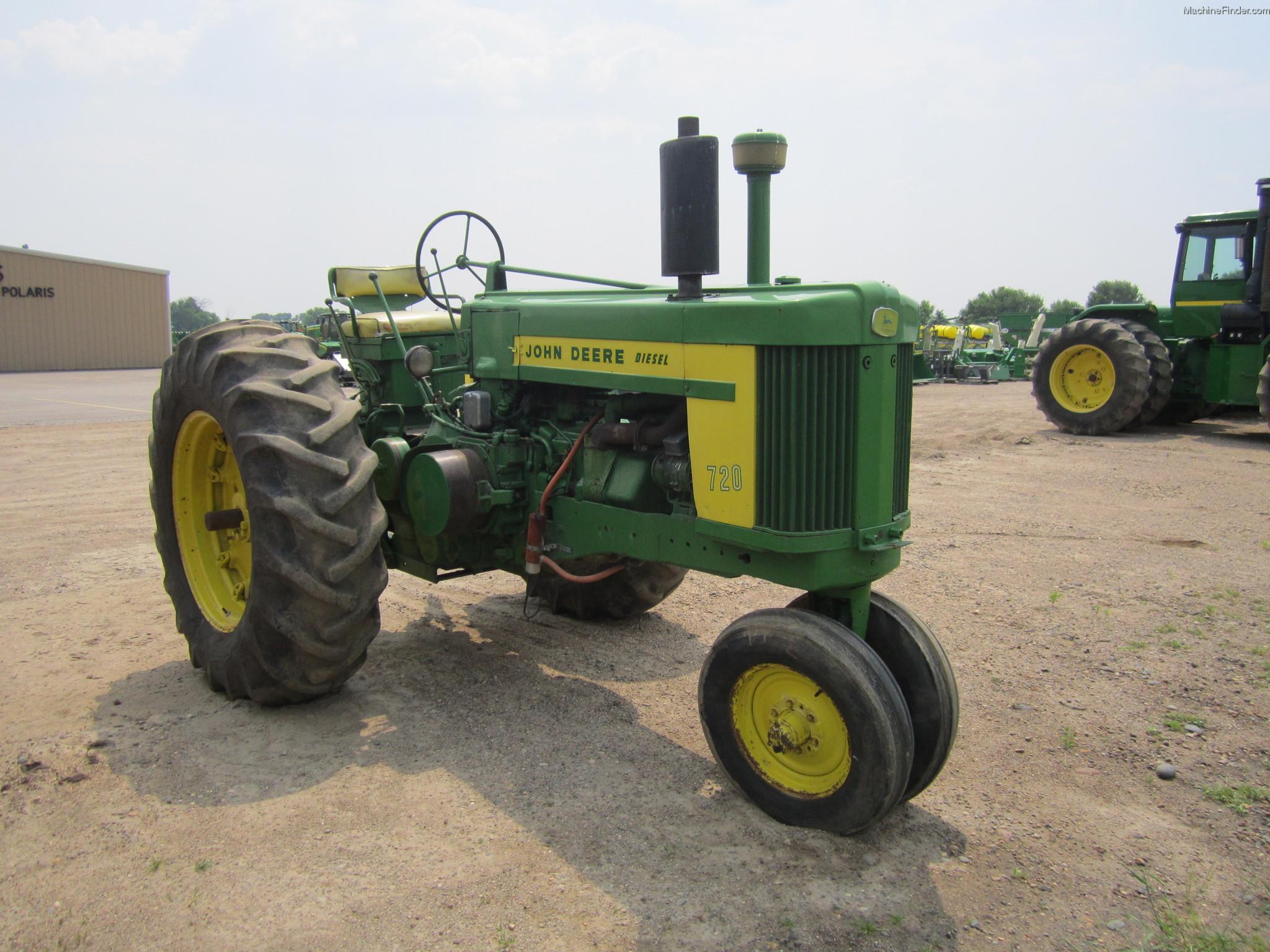 John Deere 720 Tractors - Row Crop (+100hp) - John Deere ...