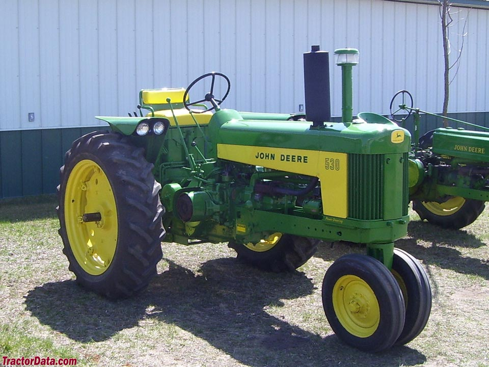 TractorData.com John Deere 530 tractor photos information