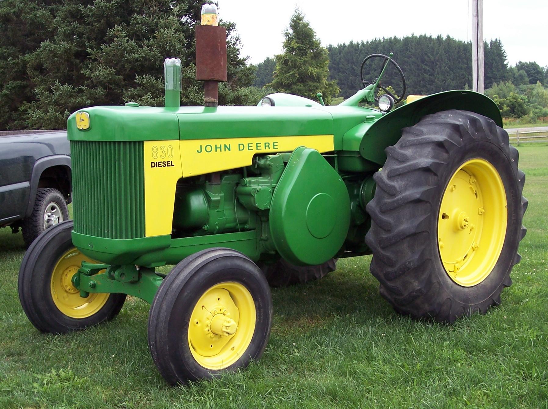 1959 John Deere 830   North Otto Tractor Parts