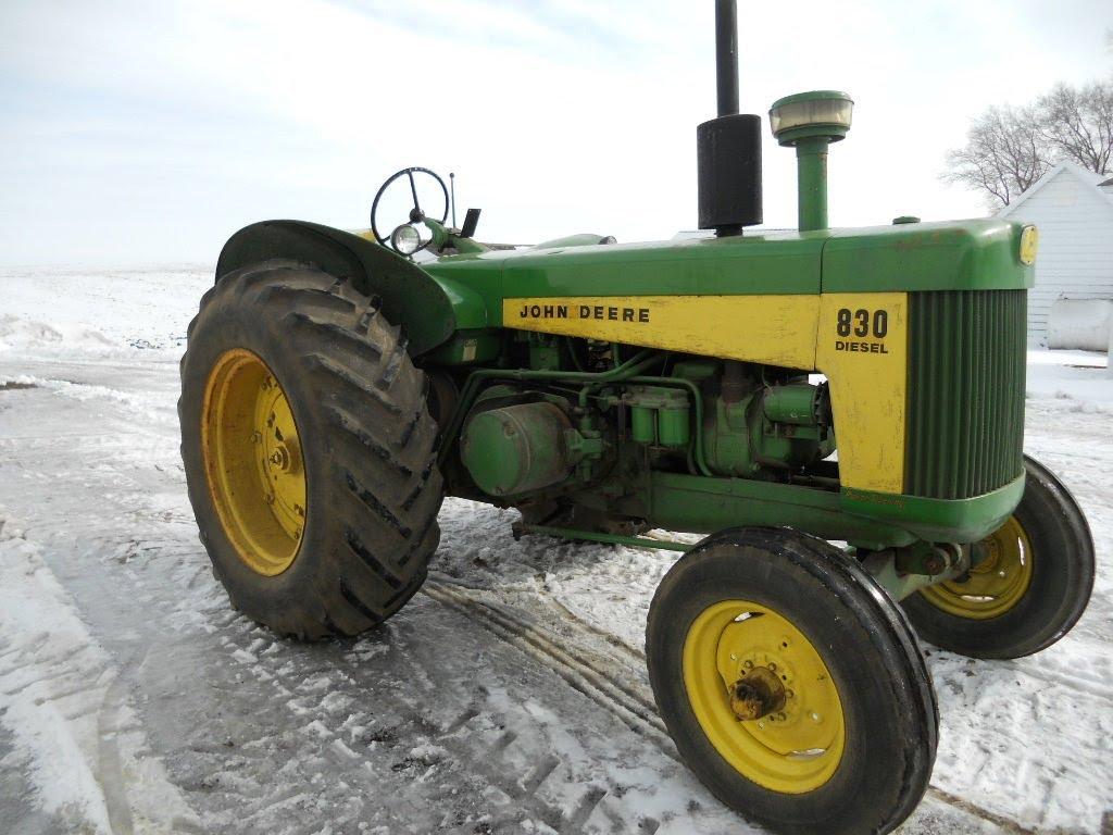 John Deere 830 Diesel Tractor Sold for $24,750 on Auction ...