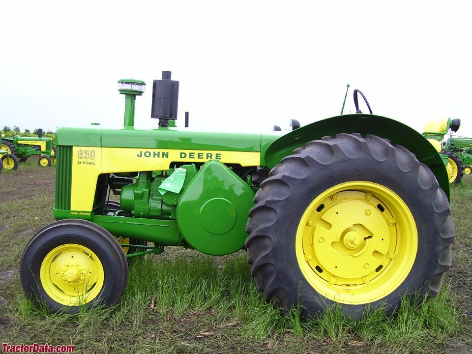 TractorData.com John Deere 830 tractor photos information