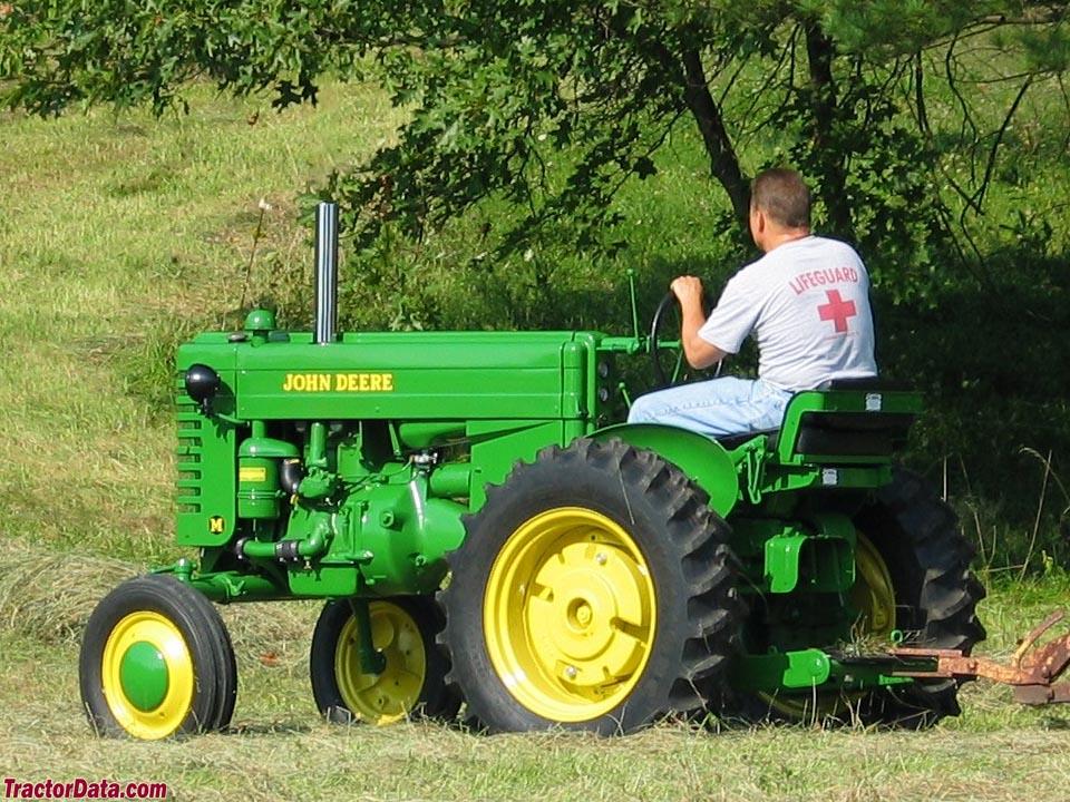 TractorData.com John Deere M tractor photos information