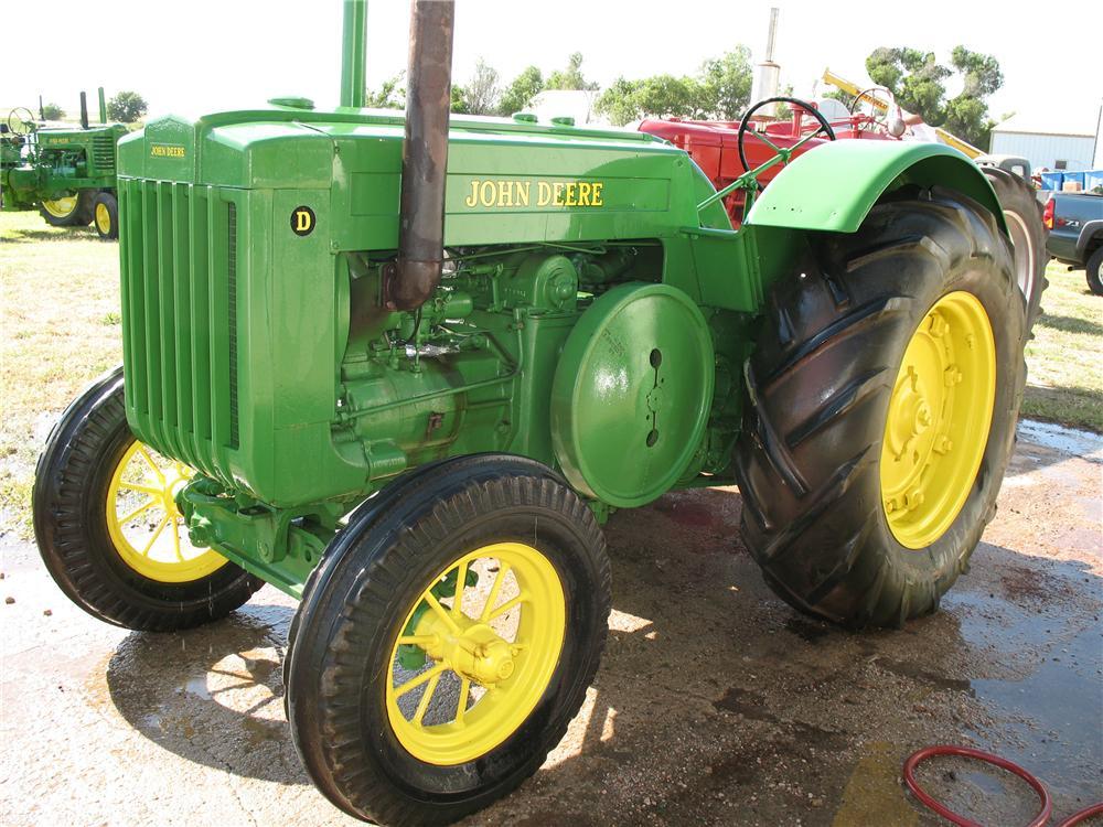 1941 JOHN DEERE D TRACTOR - 93474