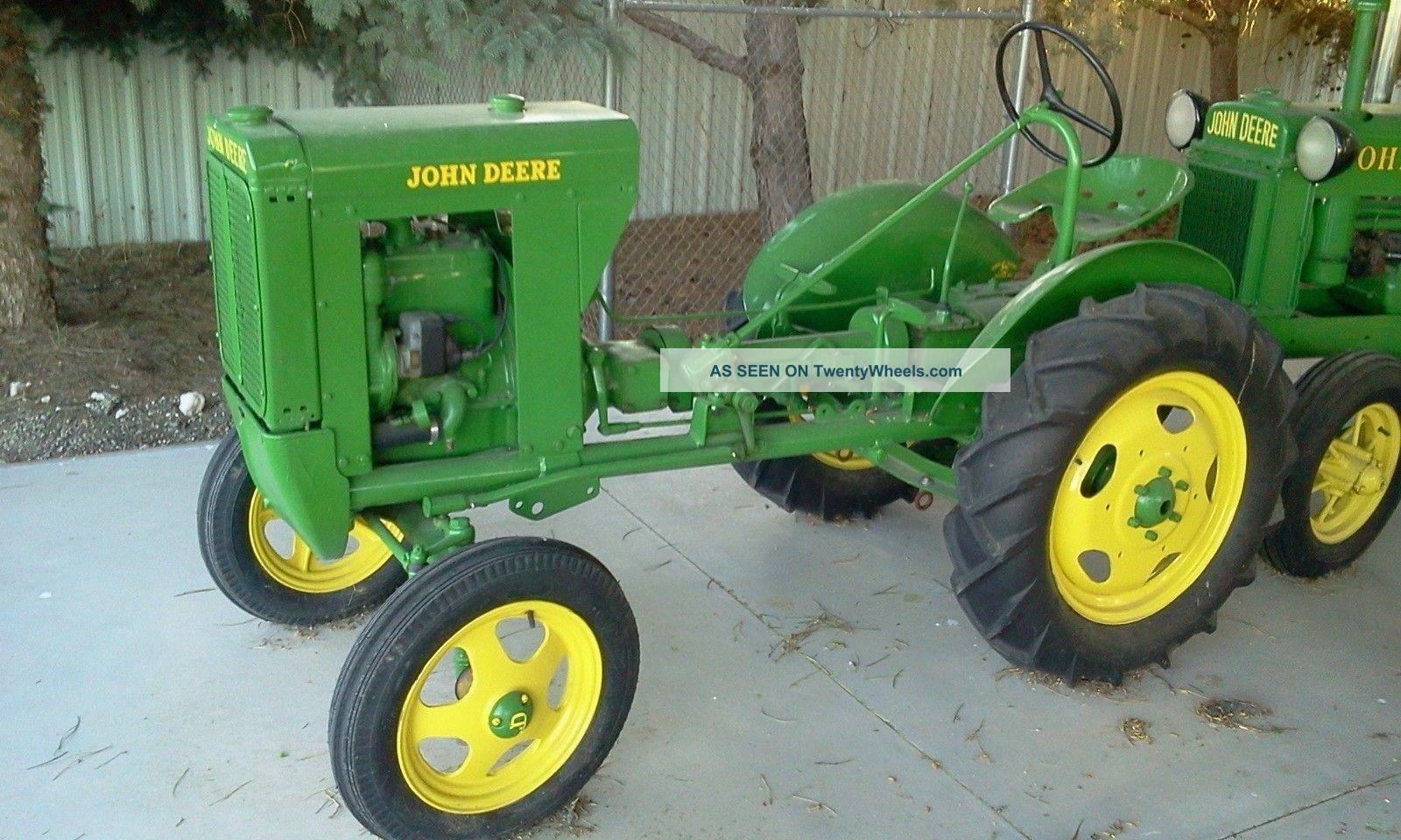 John Deere 1937 Unstyled L Tractor 2nd Ever Made Ie 62 La Li