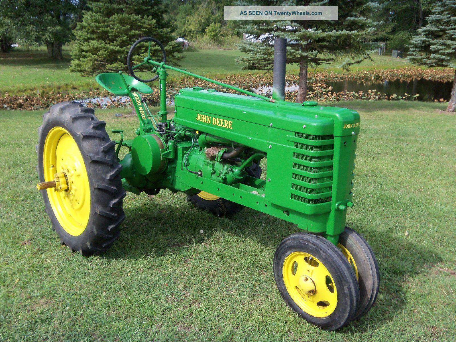 John Deere H Tractor - Restored